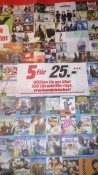 [On- und Offline] MediaMarkt.de: 5 für 25€ Aktion (CDs & Blu-rays) vom 22.02 – 04.03.2017