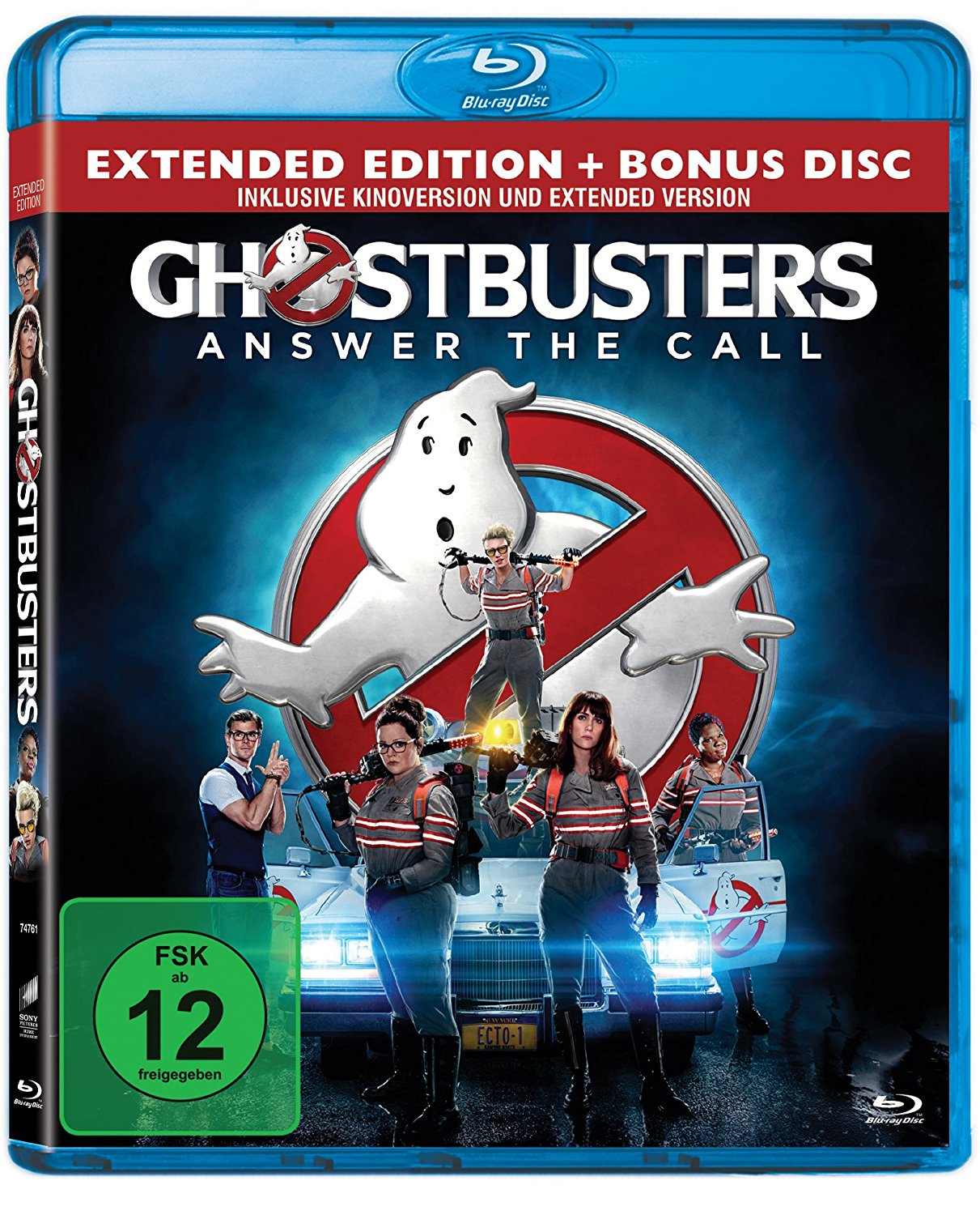 tagesangebot ghostbusters blu ray extended edition. Black Bedroom Furniture Sets. Home Design Ideas