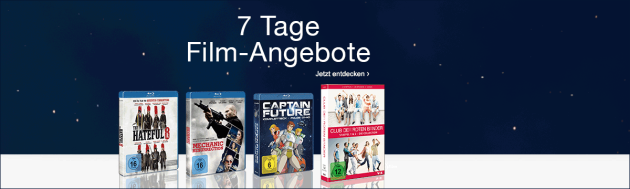 Amazon.de: Neue Aktionen (13.02.17) und 7-Tage Film-Angebote