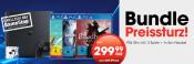 Gamestop.de: PlayStation 4 Konsole 1TB Slim inkl. No Man's Sky + Bloodborne + Uncharted 4 + In-Ear-Headset (GameStop exklusiv!) für 299€