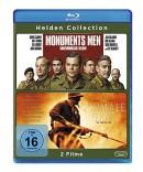 Amazon.de: Helden Collection: Monuments Men/Der schmale Grat (exklusiv bei Amazon.de) [Blu-ray] für 8,99€ + VSK