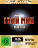 Amazon.it: Iron Man Trilogy Steelbook [4K Ultra HD] für 54,16€ + VSK
