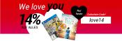 Medimops.de: Valentinstag bei medimops mit 14% Rabatt auf alles