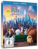 Moluna.de: Pets Limited Steelbook Edition (Blu-ray) für 11,94€ + VSK