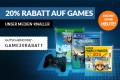 reBuy.de: 20% Rabatt auf Games