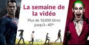 Amazon.fr: La semaine de la vidéo vom 6.-13. März