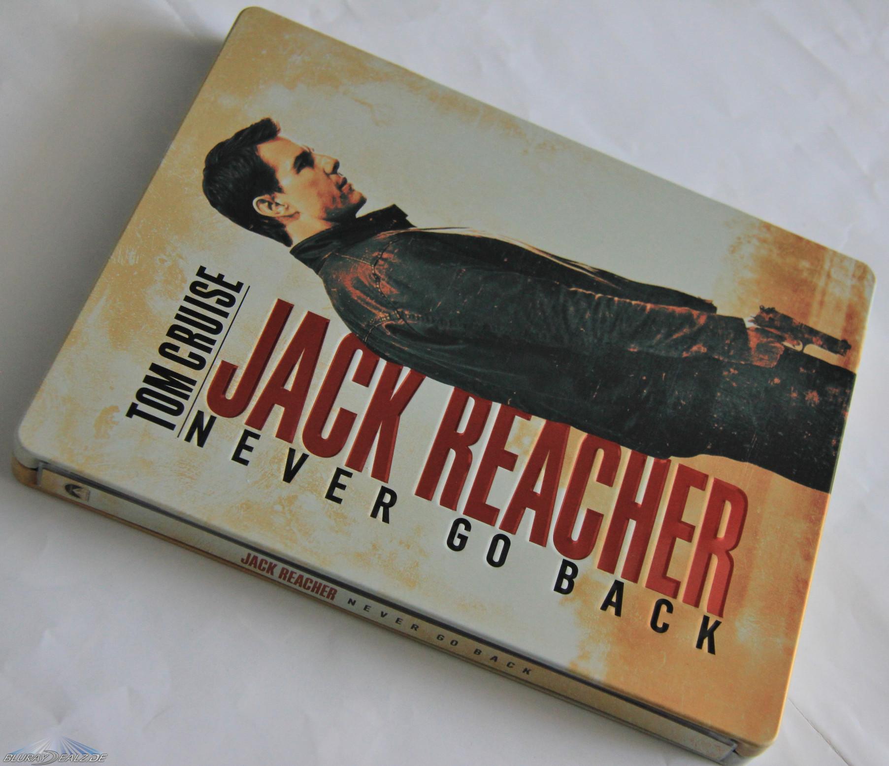 [Review] Jack Reacher: Kein Weg zurück – Steelbook ...