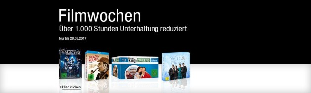 Amazon.de: Koch Media – Filmwochen (13.03. – 26.03.17)