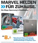 [Lokal] Saturn Dortmund City: Marvel Helden – Steelbooks für je 8€, z.B. Avengers – Age of Ultron [3D Blu-ray] – Limited Steelbook