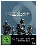 [Vorbestellung] Saturn.de: Rogue One – A Star Wars Story – Steelbook (3D Blu-ray + 2D) für 24,99€ inkl. VSK