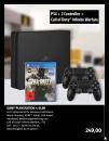 [Lokal] Black.de: Sony PS4 Slim 1 TB + 2. Controller +  Call of Duty: Infinite Warfare für 249€