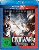 Amazon.de: The First Avenger – Civil War 3D +2D Nachfolgeprodukt [3D Blu-ray (+2D)] für 14,99€ + VSK