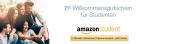 Amazon.de: 15€ Willkommensgutschein für Studenten