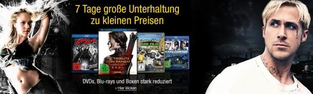Amazon.de: Deals der Woche Extended & Studiocanal 7 Tage Aktion (bis 30.04.17)