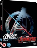 Zavvi.com: Marvel Steelbook Price Drops – Jessica Jones, Agent Carter, Avengers (Steelbook) [Blu-ray] ab 16,95€