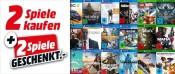 MediaMarkt.de: Oster Multimedia Prospekt u.a. 2 Spiele kaufen 2 Spiele geschenkt