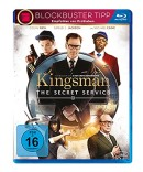 Amazon.de: Kingsman – The Secret Service [Blu-ray] für 4,49€ + VSK