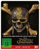 [Vorbestellung] MediaMarkt.de: Pirates of the Caribbean: Salazars Rache (2D+3D) – Steelbook Edition [Blu-ray] für 32,49€ inkl. VSK