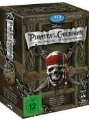 Amazon.de: Pirates of the Caribbean – Die Piraten-Quadrologie (5 Blu-rays) für 14,39€ + VSK
