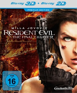 Resident Evil The Final Chapter Blu-ray Limited Edition