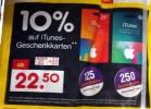 Netto (ohne Hund): iTunes Karten mit 10% Rabatt + Deutschlandcard Zusatzpunkte