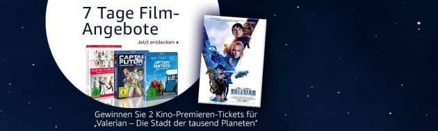 Amazon.de: Universum 7 Tage Film-Angebote u.a. 3 für 18 Aktion (bis 25.06.17)