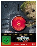 [Vorbestellung] CeDe.de: Guardians of the Galaxy Vol. 2 – 2D & 3D Steelbook Edition [3D Blu-ray] [Limited Edition] für 24,99€ inkl. VSK