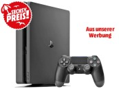 MediaMarkt.de: PS4 Aktion u.a. SONY PlayStation 4 Slim 500GB für 186€ & Games ab 9€