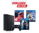real.de: Sony Playstation 4 mit 1 Terabyte, inklusive Uncharted 4, Driveclub und Rachet & Clank für 279€ inkl. VSK