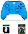 Game.co.uk: Xbox One Blue Wireless Controller with Halo 5 & Gear of War 4 für 65,04€ inkl. VSK