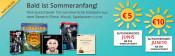 Hugendubel.de: 5€ Gutschein ab 25€ MBW bzw. 10€ Gutschein ab 50€ MBW z.B. Run All Night Blu-ray für 2,49€ + VSK