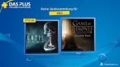 PSN Store: Eure PS Plus Spiele im Juli mit u.a. Until Dawn oder Game of Thrones – A Telltale Series
