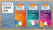 Rewe: Bis zu 20% Extraguthaben für iTunes Karten bis 10.06.