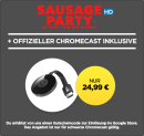 Wuaki.tv: Google Chromecast + Sausage Party (HD) für 24,99€