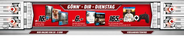 MediaMarkt.de: Gönn Dir Dienstag – Demonic (Steelbook) für 6€ und Angélique (Mediabook) für 8€