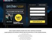 Rakuten.tv: Die komplette Harry Potter- Sammlung in HD-Qualität als Stream nur 19,99€