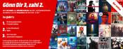 MediaMarkt.de: Kaufe 3 bezahlt nur 2 (DVD, Blu-ray ect. ) bis 10.07.17