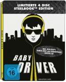 Amazon.de: Baby Driver Steelbook (2 Discs-Steelbook + 2 Discs-Soundtrack ) [Blu-ray] für 20,14€ + VSK