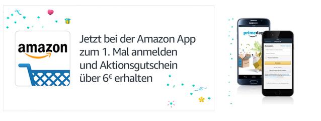 Jetzt Bei Der Amazon App Zum Ersten Mal Anmelden Und