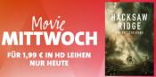 iTunes & Amazon.de: Movie Mittwoch – Hacksaw Ridge für 1,99€ in HD leihen