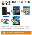 Saturn.de: Technik Festival u.a. mit SONY PlayStation 4 Pro 1TB + 4 Gratis Spiele für 399€ inkl. VSK