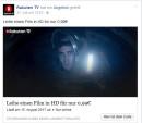 Rakuten.tv / Facebook: Beliebiger Film in HD für 0,99€ ausleihen (bis 15.08.17)