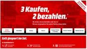 MediaMarkt.de: 3 Filme kaufen, 2 bezahlen! (Warner Bros)