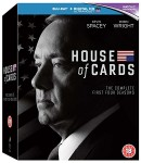 Amazon.co.uk: House Of Cards: Seasons 1-4 [Blu-ray] für 33,50€ inkl. VSK