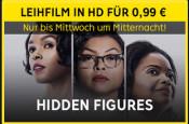 Rakuten.tv: Hidden Figures als Leihfilm in HD für 0,99€ (bis Mittwoch Mitternacht)