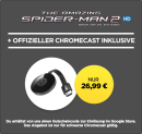 Rakuten.tv: Chromecast + The Amazing Spider-Man 2 Rise of Electro in HD als LEIHFILM für 26,99€