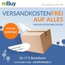 Rebuy.de: Versandkostenfrei ab 17€ (bis 28.08.17)