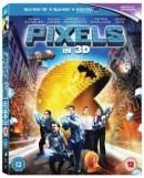 Zoom.co.uk: Pixels (3D Edition) [Blu-ray] für 6,80€ inkl. VSK