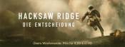 iTunes: Angebote für das Wochenende wie z.B. Hacksaw Ridge für 6,99€