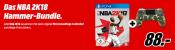 MediaMarkt.de: Satt gespart im Set z.B. PS4 Wireless DS Controller Camouflage v2 + NBA 2K18 für 88€ inkl. VSK